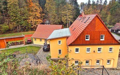Dovolená s polopenzí v přírodě Českého Švýcarska