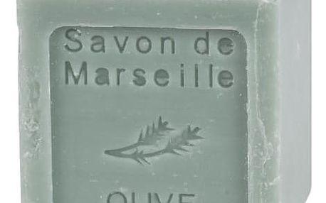 LE CHATELARD Francouzské mýdlo kostka 100g - oliva, zelená barva