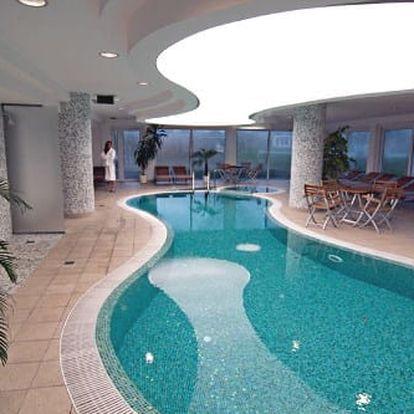 Neomezený wellness pobyt poblíž Budapešti v komfortním 4* hotelu s bazény