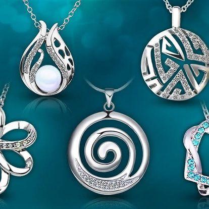 Třpytivé šperky s krystaly Swarovski Elements a zirkony