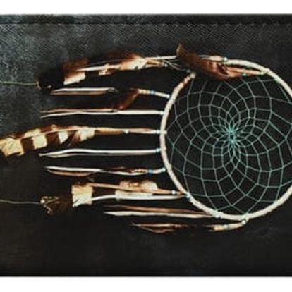 Prostorná peněženka s lapačem snů - 2 varianty