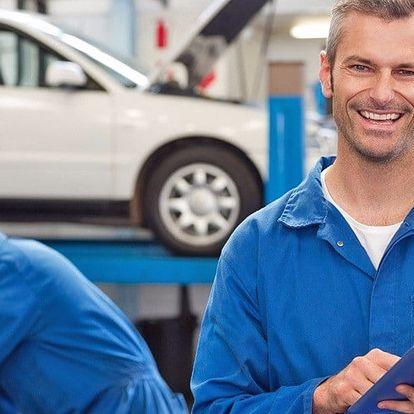 Seřízení vozu a test tlumičů pro bezpečnou jízdu