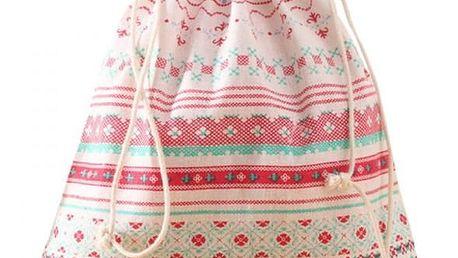 Textilní vak na přezůvky - 7 variant