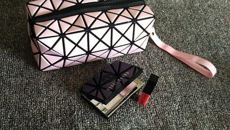 Geometrická kosmetická taštička - 7 variant