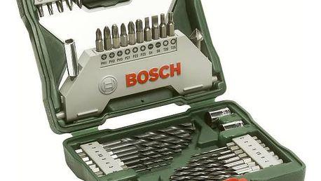 Sada vrtáků a bitů Bosch 43dílná X-Line