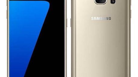 Mobilní telefon Samsung Galaxy S7 32 GB (G930F) (SM-G930FZDAETL) zlatý Paměťová karta Samsung Micro SDXC EVO 64GB UHS-I + adapter (zdarma) + Doprava zdarma