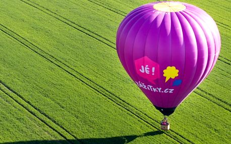 Let balónem, Slavonice, 4 osoby, 4 hodiny