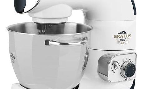 Kuchyňský robot ETA Gratus Vital 0028 90091 bílý + dárek Přísl. k robotům - nástavec na výrobu zmrzliny ETA 0028 98030 bílé v hodnotě 1 599 Kč + DOPRAVA ZDARMA
