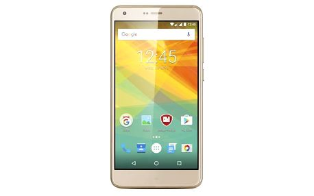 Mobilní telefon Prestigio Grace S7 Dual SIM (PSP7551DUOGOLD) zlatý + Doprava zdarma