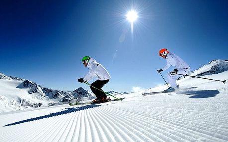 Ledovec Stubai lyžování v Rakousku, 4 LYŽAŘSKÉ DNY, VŠE v CENĚ L..., Rakousko, autobusem, polopenze