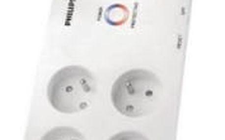Přepěťová ochrana Philips SPN3080B/19, 2 m, 8 zásuvek