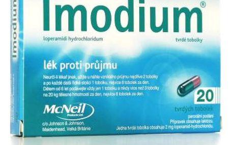 Imodium 20 x 2 mg tobolky