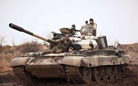 Řízení bojového tanku, Milovice, 1 osoba, 60 minut