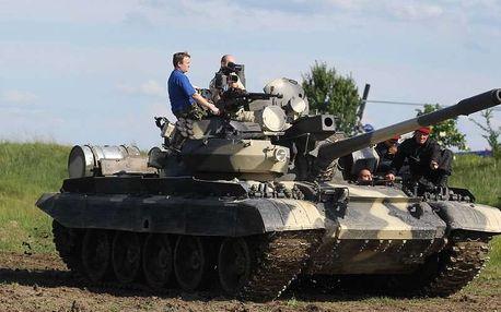 Jízda v bojovém tanku, Milovice, 2 osoby, 15 minut