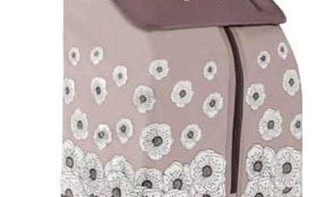 Nákupní taška na kolečkách Kangoo Thermo hnědá
