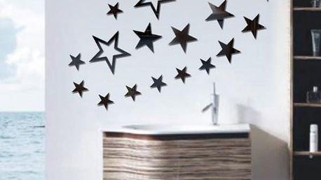 Samolepka na zeď - hvězdy