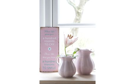 IB LAURSEN Džbánek Mynte light pink - větší, růžová barva, keramika