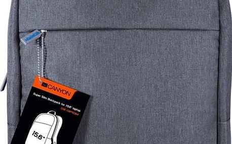 Canyon supertenký minimalisctický batoh pro 15,6'' laptop - CNE-CBP5DB4