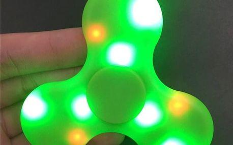 Hrající Fidget Spinner svítící ve tmě - dodání do 2 dnů