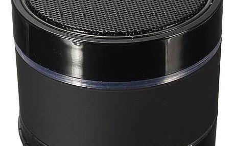 Bezdrátový Bluetooth reproduktor - černá barva - dodání do 2 dnů