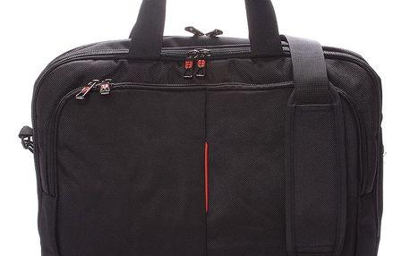 Unisex taška brašna přes rameno černá - Enrico Benetti 7113 černá