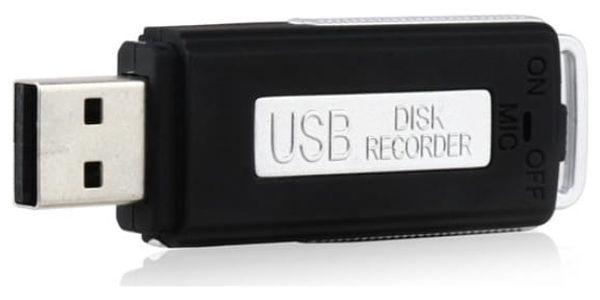 USB diktafon s 8 GB flash diskem