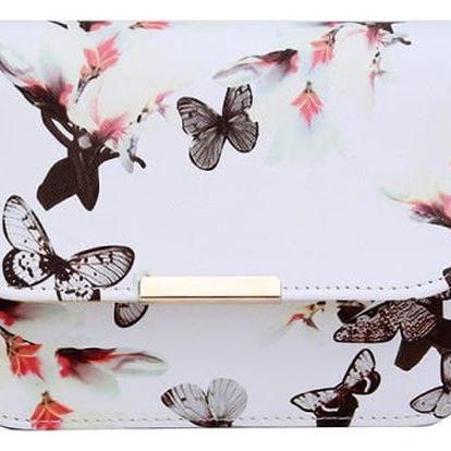 Taška přes rameno s motýly