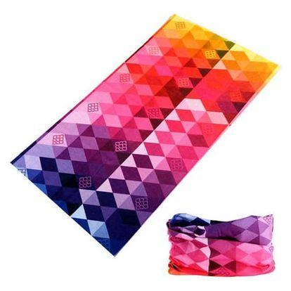 Multifunkční sportovní šátek pro ženy i muže - různé vzory