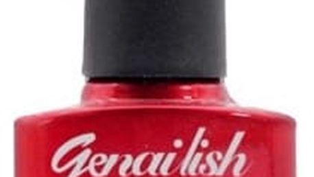 GEL lak na nehty - v různé teplotě měnící barvu (10ml) - rudá - dodání do 2 dnů
