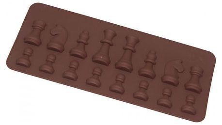 Silikonová forma na pečení - šachové figurky