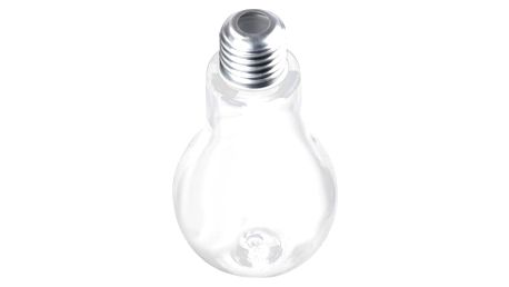 Lahev na pití ve tvaru žárovky