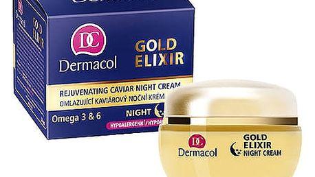 Dermacol Gold Elixir 50 ml noční pleťový krém W