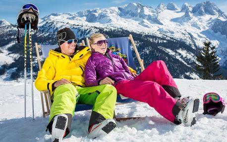 Víkendové lyžování v Rakousku, HOTEL***+ polopenze skipas welln..., Dachstein West, Rakousko, autobusem, polopenze