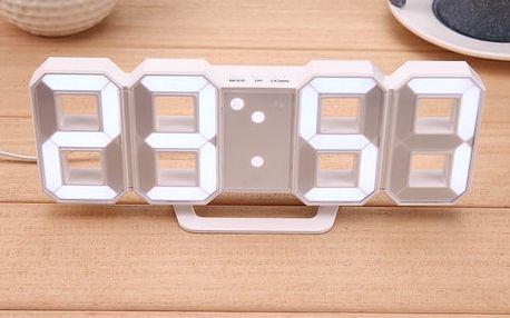 Stolní digitální LED budík