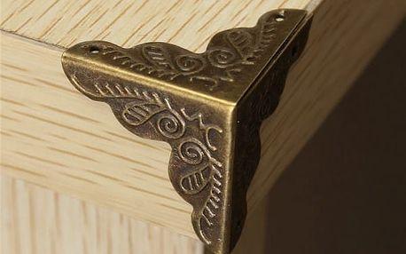 Ozdobné kryty na rohy nábytku - 10 kusů