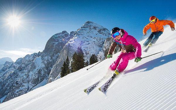 Lyžování v Rakousku VŠE V CENĚ, HOTEL***+ polopenze wellness, ski...