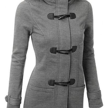 Mikina ve stylu kabátu - 6 barev