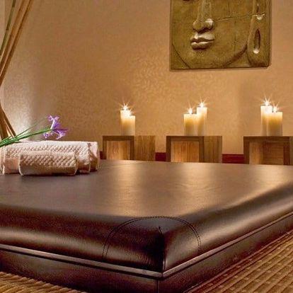 110 minut relaxace: výběr ze 4 thajských masáží