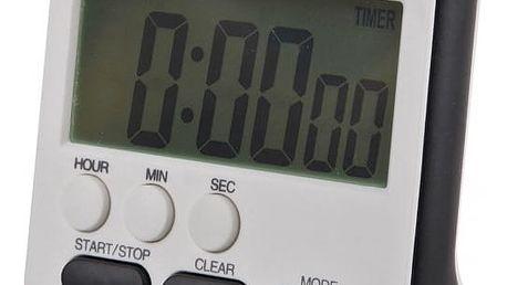Kuchyňský budík s LCD displejem