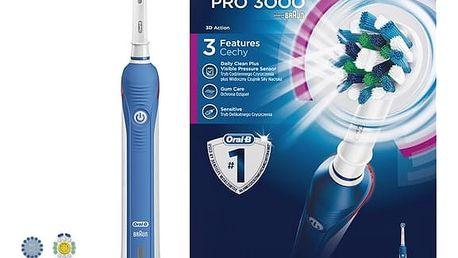 Zubní kartáček Oral-B Oral-B® ProfessionalCare™ PRO 3000 bílý/modrý