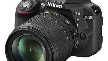 Digitální fotoaparát Nikon D3300 + 18-105 AF-S DX VR černý