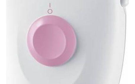 Epilátor Braun Silk-épil 1 1170 bílý/růžový + Doprava zdarma