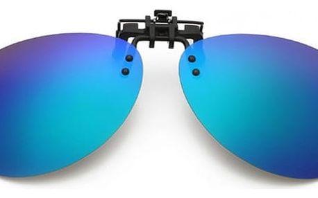 Polarizační klip na dioptrické brýle - různé barvy