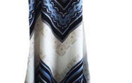 Dlouhá sukně s výrazným vzorováním - 2 varianty