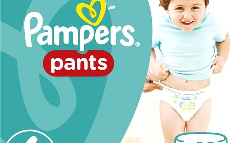 Pampers Plenkové kalhotky ActivePants 6 ExtraLarge Jumbo Pack 44 ks
