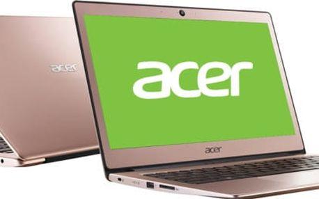 Acer Swift 1 (SF113-31-P2XQ), růžová - NX.GPQEC.001