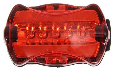 Červené cyklistické zadní světlo