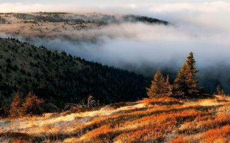 Turistika v čisté přírodě Jeseníků s polopenzí