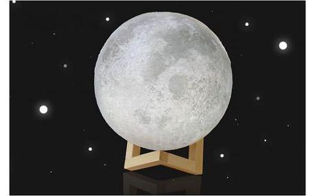 Dotyková lampička Měsíc