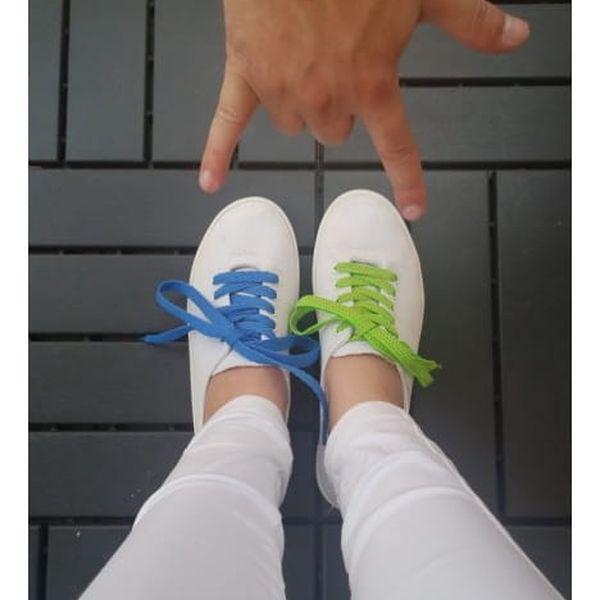 Barevné tkaničky do bot Cool Style